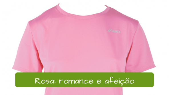 Pink t-shirt: romance and affection