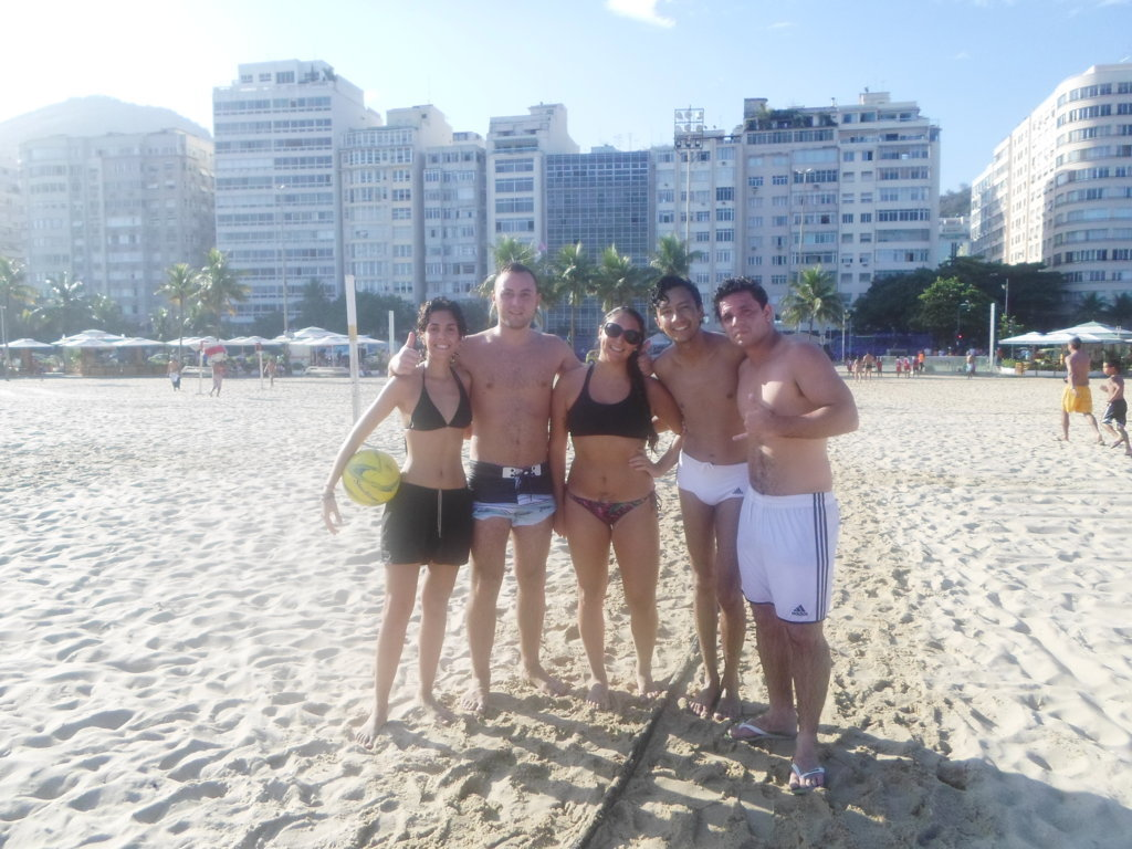 Beach Soccer with Rio & Learn