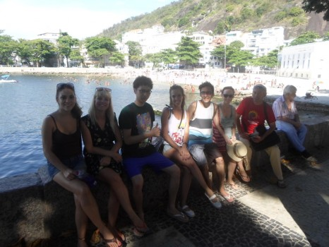 Relaxing at Urca