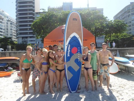 Stand up paddle surf with Rio & Learn