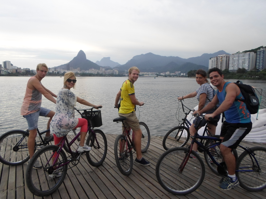 Cycling at Lagoa.
