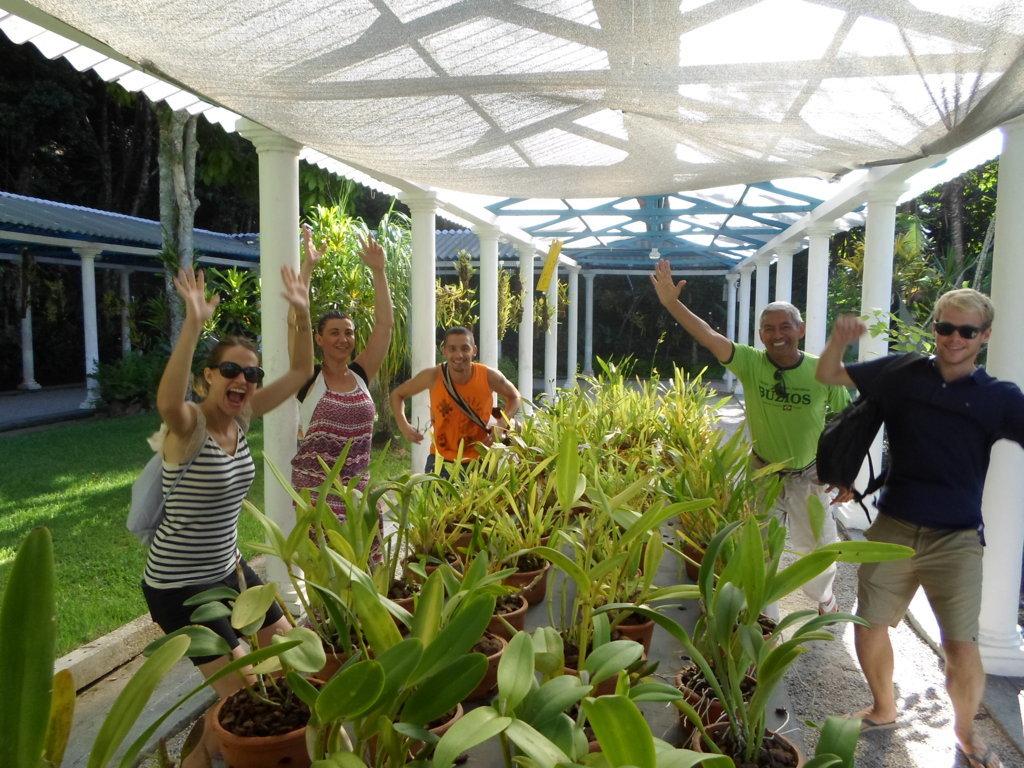 Fun at the Botanical Garden. Jardim Botânico, Rio de Janeiro, Brasil.