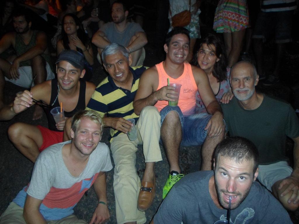Having Fun at Pedra do Sal.Rio de Janeiro, Brasil.