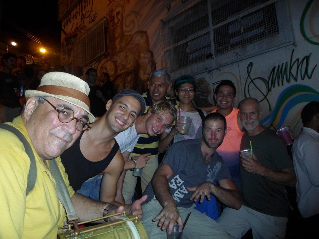 Having Fun at Pedra do Sal. Rio de Janeiro, Brasil.