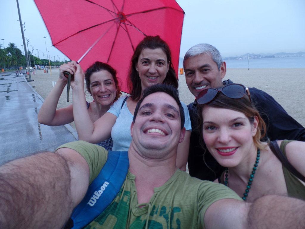 Selfie at Botafogo Beach. Rio de Janeiro, Brasil.