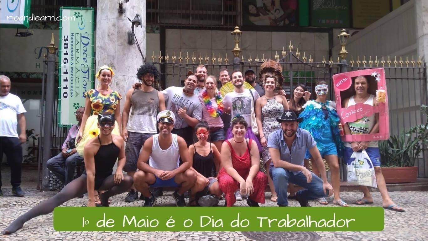 Labor Day in Brazil. O Dia do Trabalhador é um dia para relaxar!