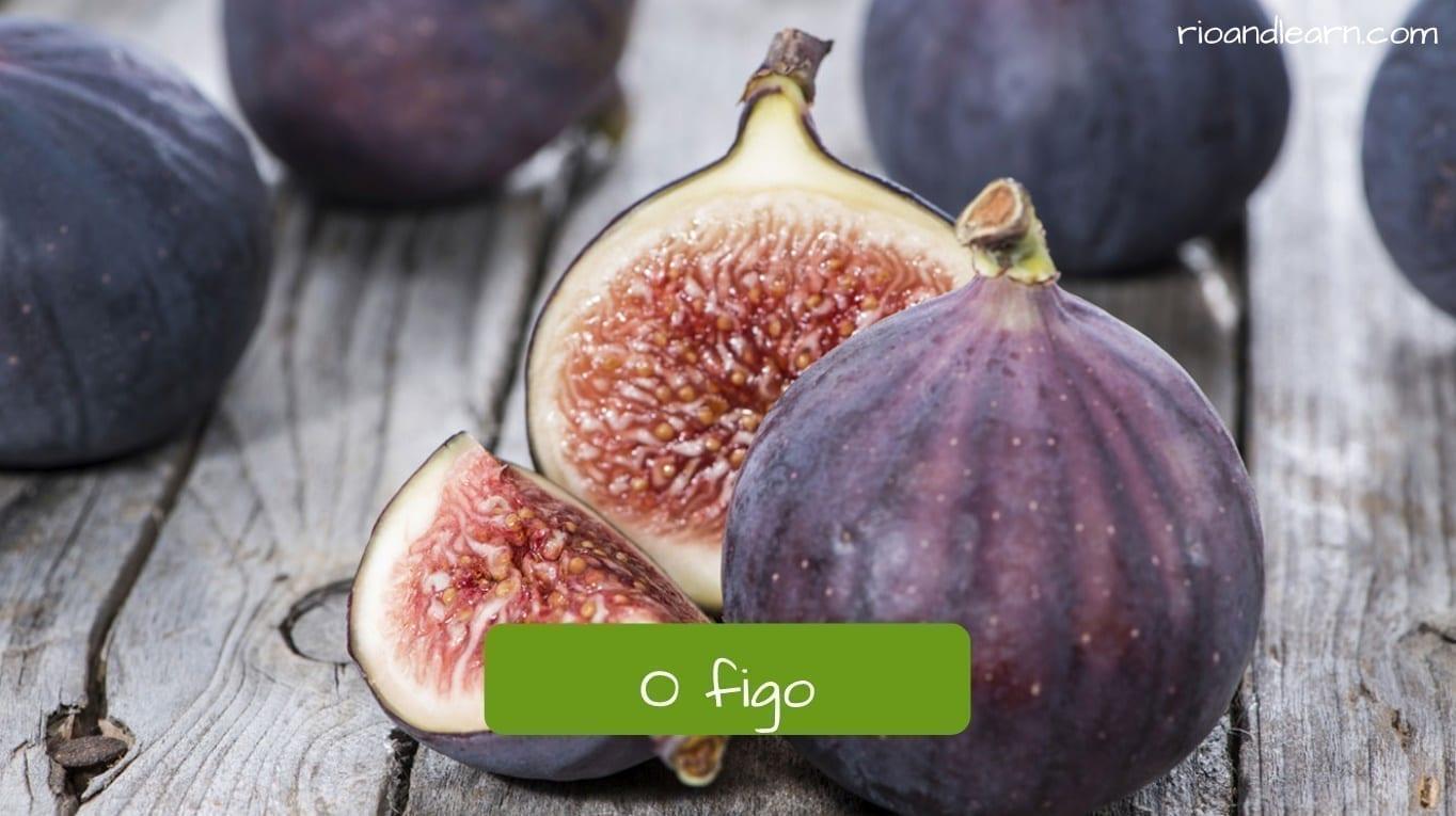 Fig in Portuguese: Figo