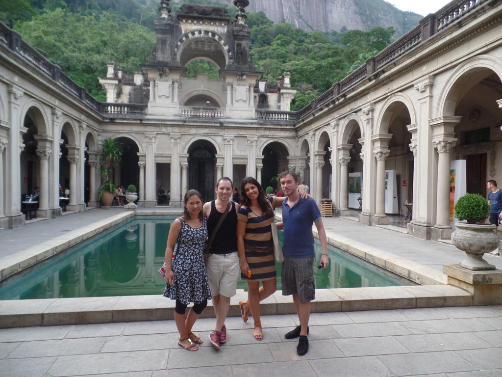 Wonderful day at Parque lage.