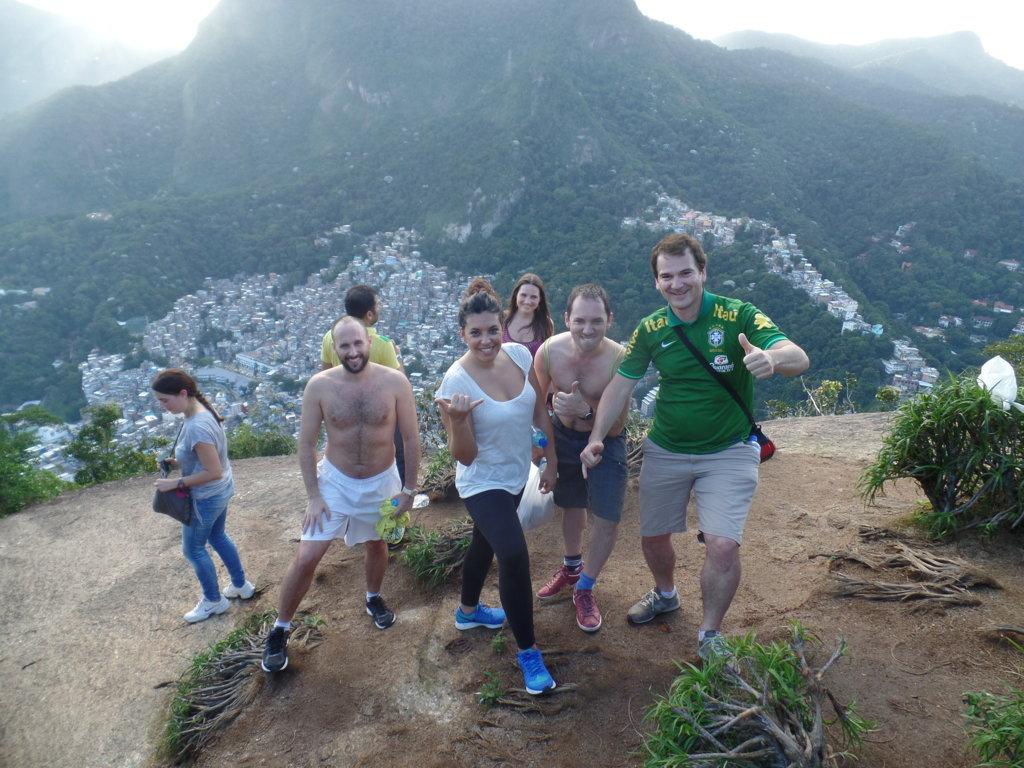 Exploring Morro Dois Irmãos.