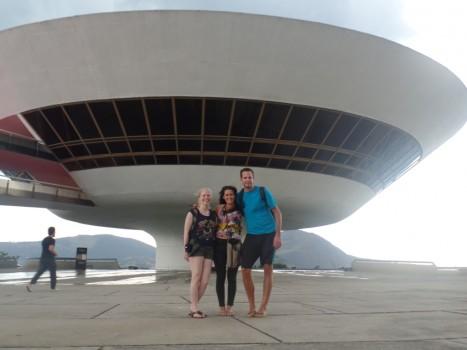 Portuguese students at MAC.