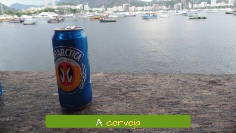 a cerveja the beer cervejas brasileiras