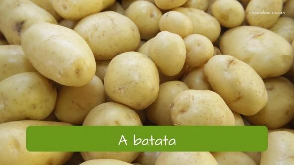 La patata en portugués: batata