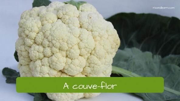 Coliflor en portugués: couve-flor.