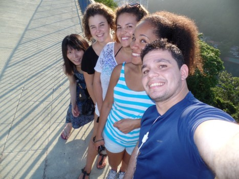 Selfie at Forte do Leme.