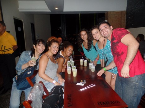 Lapa, caipirinhas and fun.