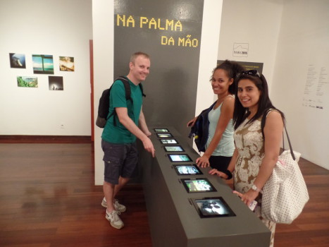 Exhibition at CCBB (Centro Cultural Banco do Brasil)