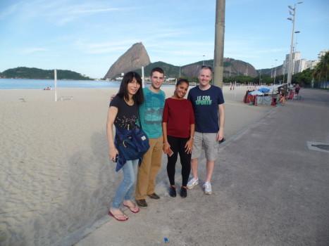 Sunny day in Rio.