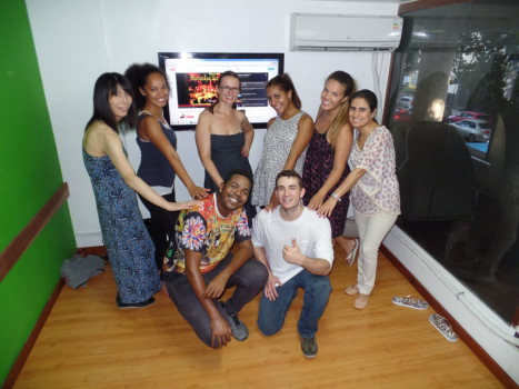 Let's dance samba?!