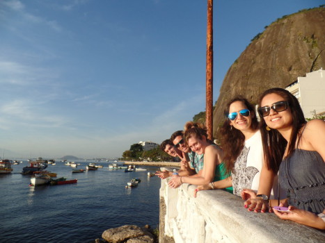 Relaxing at the neighborhood of Urca.