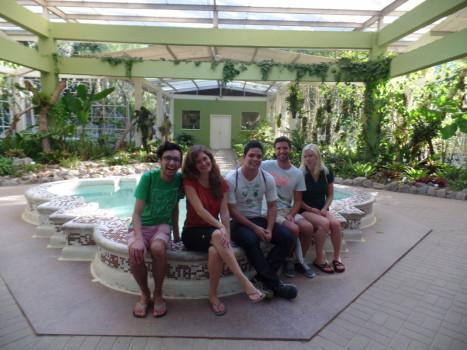 Relaxing at Jardim Botânico.