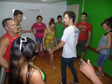 Samba Class at Rio & Learn.