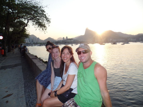 Sunset at Urca.