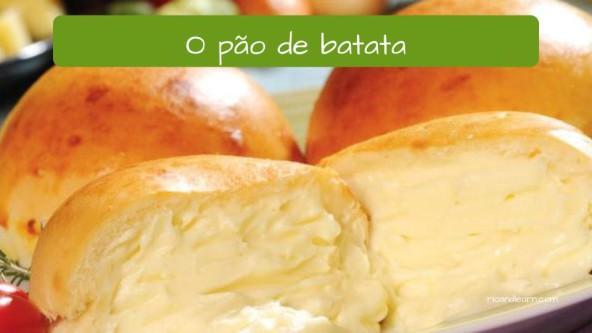 Salgados no Brasil: O pão de batata.