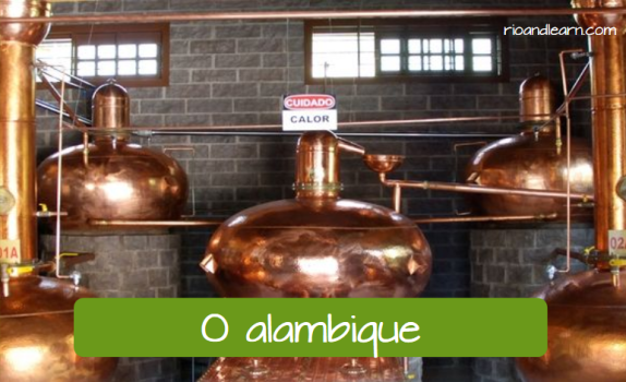 What is cachaça. O alambique