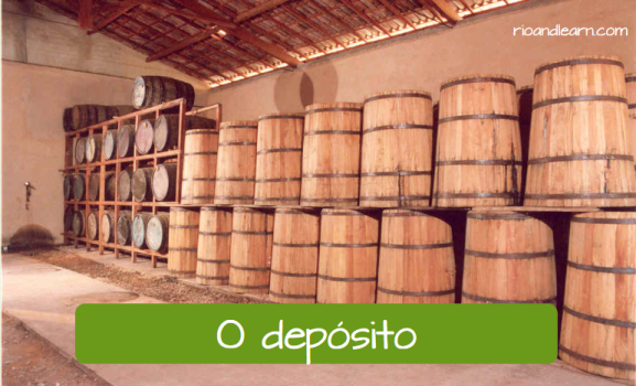 What is cachaça. A Dica do Dia. O depósito. The storage