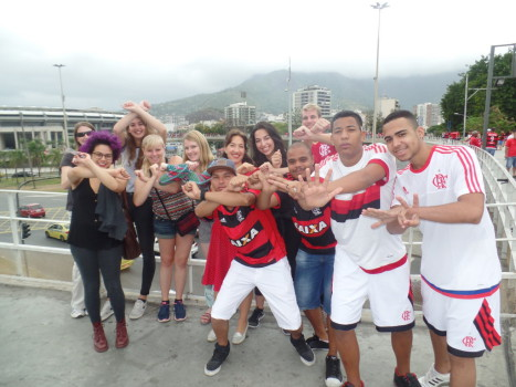Flamengo X Internacional.