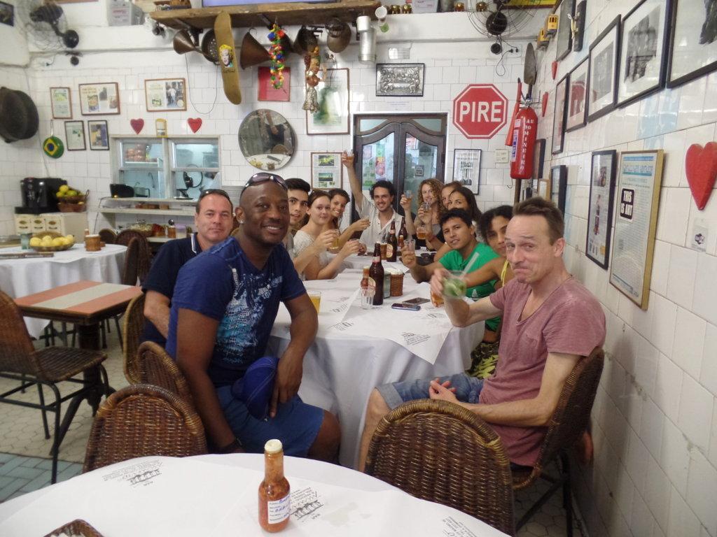 Having fun, drinking caipirinhas and speaking Portuguese in Santa Teresa.
