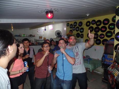 Karaoke with Portuguese