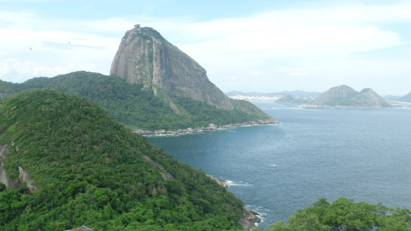 Beautiful view at Forte do leme.