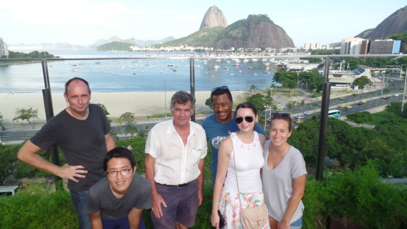 Beautiful view at Botafogo Praia Shpping.