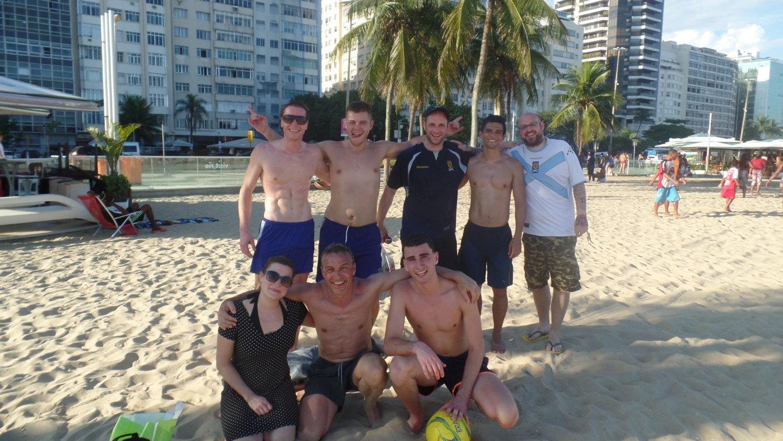 Portuguese and beach soccer.