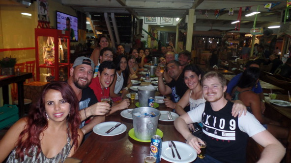 We celebrated the end of the week at São Cristóvão.