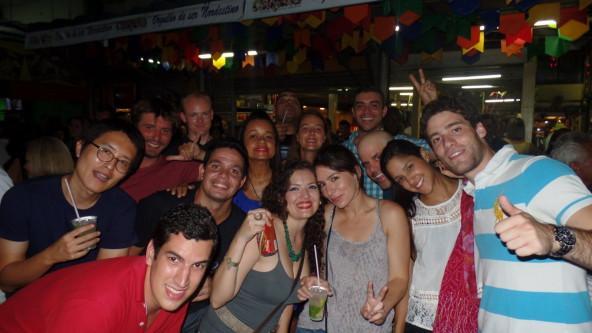 Birthday at Feira!