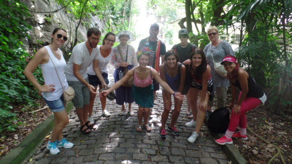 Visiting Forte do Leme.