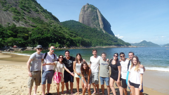 Gringos at Urca.
