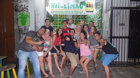 Fun, Portuguese and Caipirinhas with Rei do Limãos.