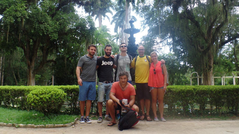 Walk through the botanical garden discover rio brazil - When you walk through the garden ...