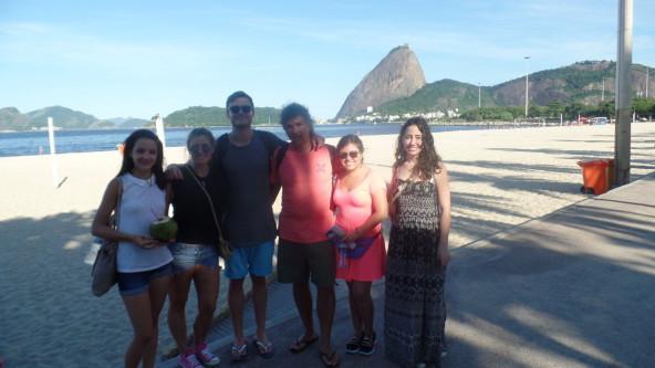 Exploring Flamengo.