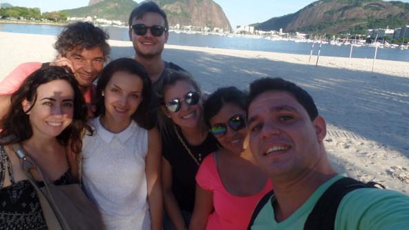 Selfie at Botafogo.