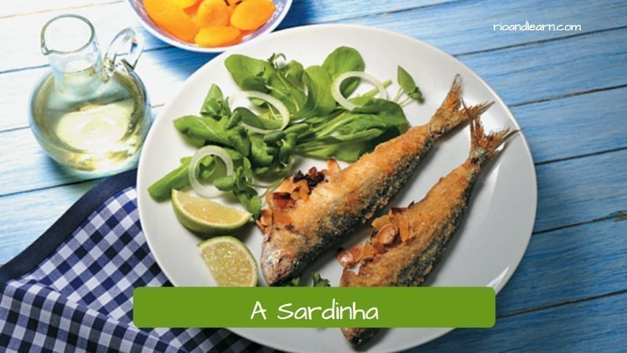 Sardine: It has a lot of omega-3. The sardine helps avoid cardiovascular diseases and improves blood circulation.
