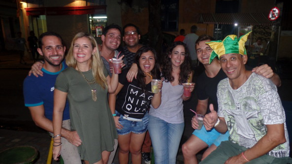 Caipirinha and fun at Lapa.