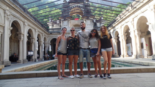 Portuguese students at RioLIVE!