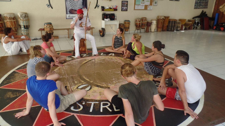 learn capoeira: