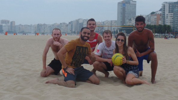 Football in Brazil is a Traditional sport.