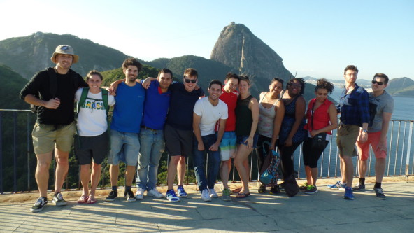 Beautiful place of Rio de Janeiro.
