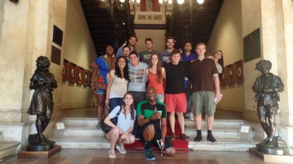 History at Palácio do Catete.